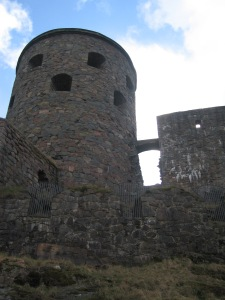 Sweden Bohus tower