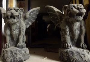 Gargoyle pair