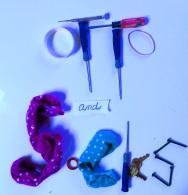 Otto Socks blue