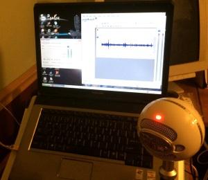 Feb Cabin audio setup dark