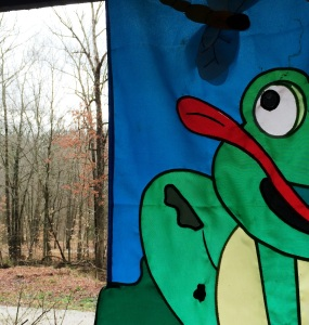 Frog Flag Woods very Close