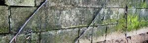 Narrow Block Wall