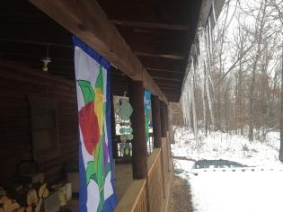 2014 cabin winter snow2